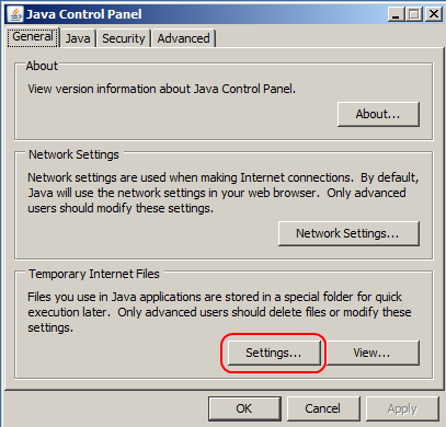 Clearing Java Cache | DocMagic